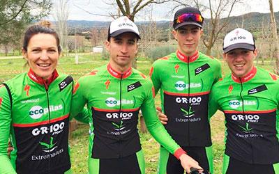 Extremadura-Ecopilas estará en la segunda prueba del Open extremeño del Cerro de la Cruz con cuatro ciclistas