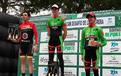 Un gran Miguel Periáñez logra su primera victoria con Extremadura-Ecopilas en el Desafío de la Magrera de Hornachos