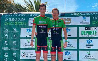 Doblete para las chicas del Extremadura-Ecopilas en Las Hurdes y Quintana de la Serena donde también ganó Barquero