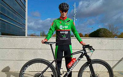 ENTREVISTA: Francis Barquero, el corredor más joven del Extremadura-Ecopilas MTB