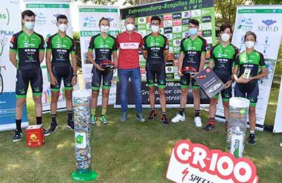 """La Vía de la Plata """"extremeña"""" en dos maratonianas etapas de BTT, próximo reto del Extremadura-Ecopilas"""