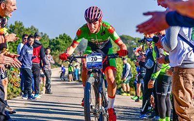 Manu Cordero (Extremadura-Ecopilas) estará mañana en la parrilla de salida de Colina Triste UCI 2020 con mucho nivel