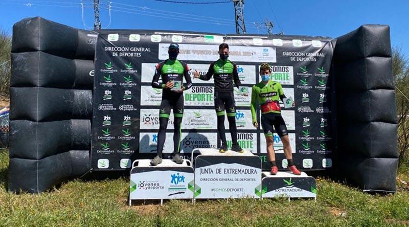 podio elite Ruta BTT Puerto de la Cabra 2021