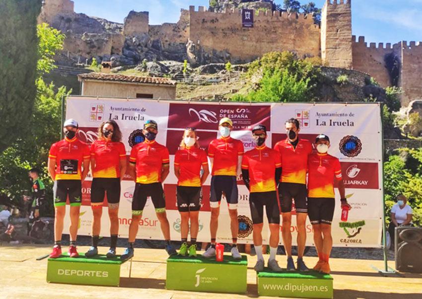 primeros líderes del Open de España XCUM 2021