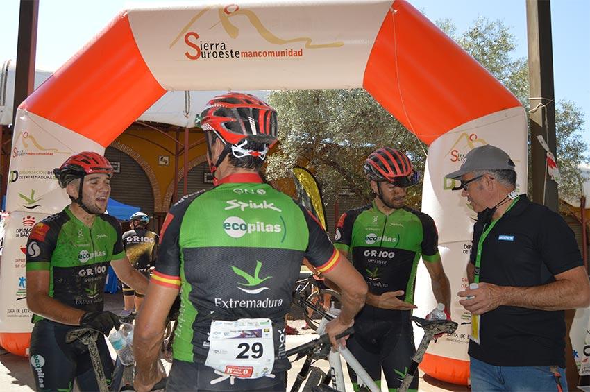 Extremadura Ecopilas en Maratón Templario 2021
