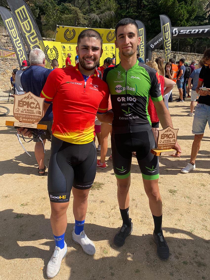 Campeón y Subcampeón Sub23 del Open de España XCM