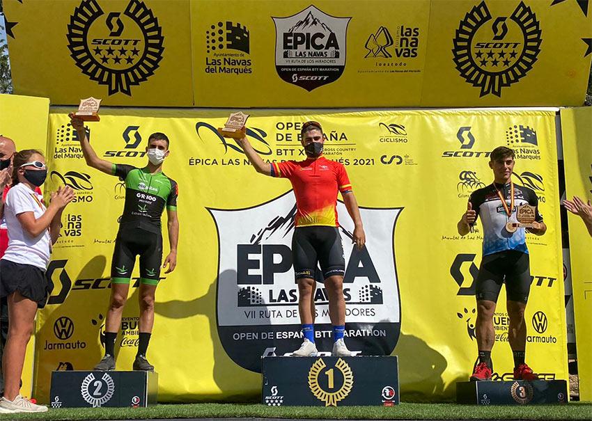 Podio final sub23 Open España XCM